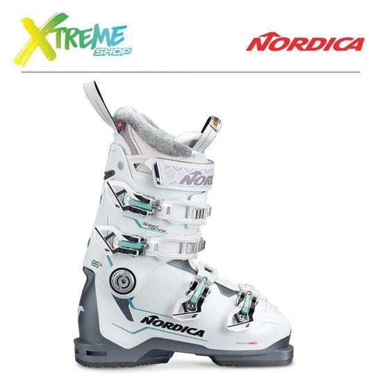 Buty narciarskie Nordica SPEEDMACHINE 85 W 2019 White/Anthracite/Lt. Blue