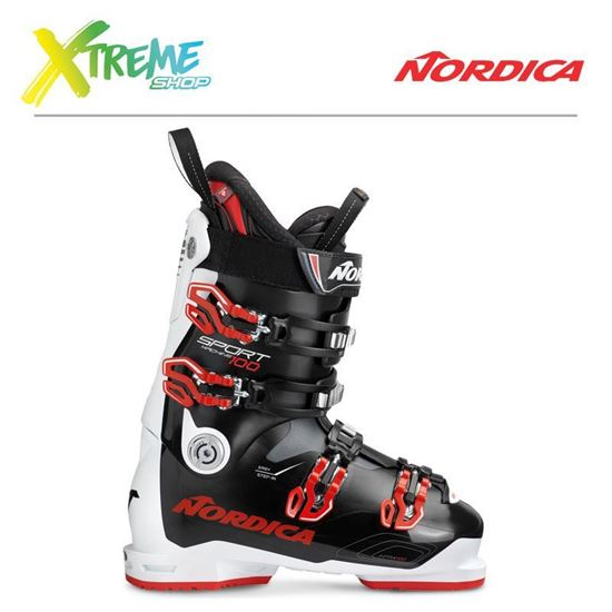 Buty narciarskie Nordica SPORTMACHINE 100 2019 Black/White/Red