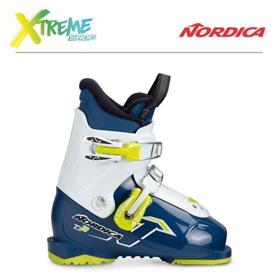 Buty narciarskie Nordica TEAM 2 2019 Blue/White/Lime