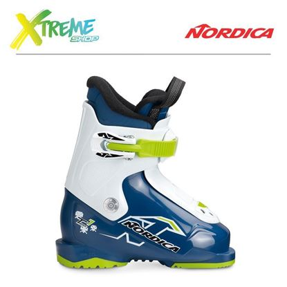Buty narciarskie Nordica TEAM 1 2019 Blue/White/Lime
