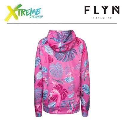 Bluza Flyn HOODIE FLAMINGO WOMAN Pink 2