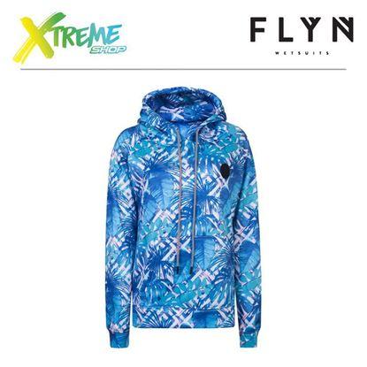 Bluza Flyn HOODIE OCEAN LEAVES WOMAN 1