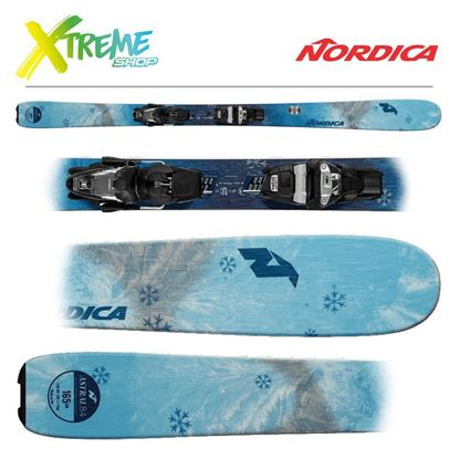 Narty Nordica ASTRAL 84 2019 + Wiązania Free 11 FDT