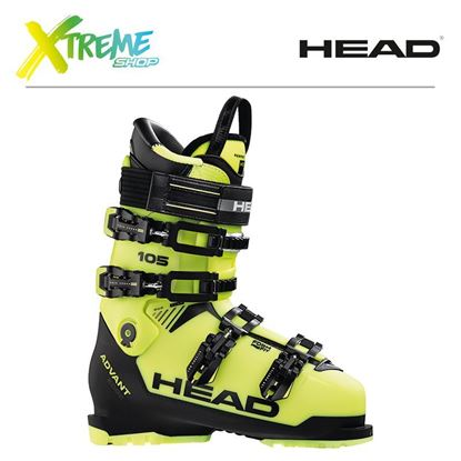 Buty Narciarskie Head ADVANT EDGE 105 2019 Yellow/Black