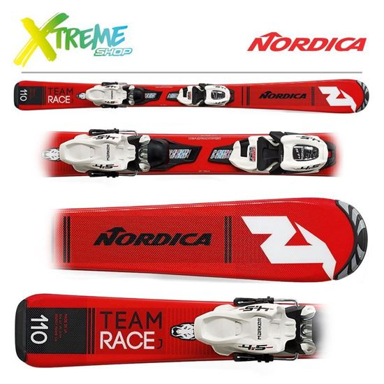 Narty Nordica TEAM J RACE FDT 2019 + Wiązania JR 4.5 FDT