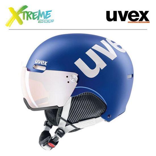 Kask UVEX HLMT 500 VISOR Cobalt-White Mat