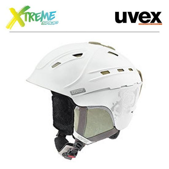 Kask UVEX P2US WL White-Prosecco Mat