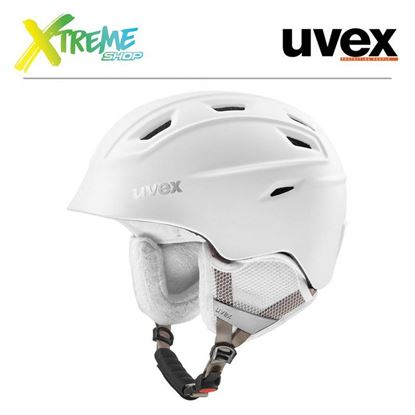 Kask UVEX FIERCE White Mat
