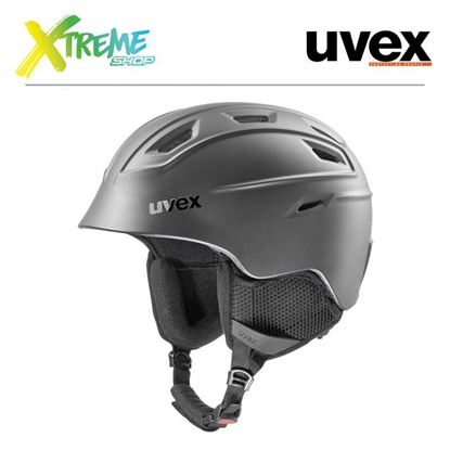 Kask UVEX FIERCE Black Mat
