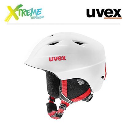 Kask UVEX AIRWING 2 PRO White-Red Mat