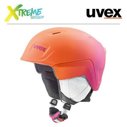 Kask UVEX MANIC PRO Pink-Orange Met Mat