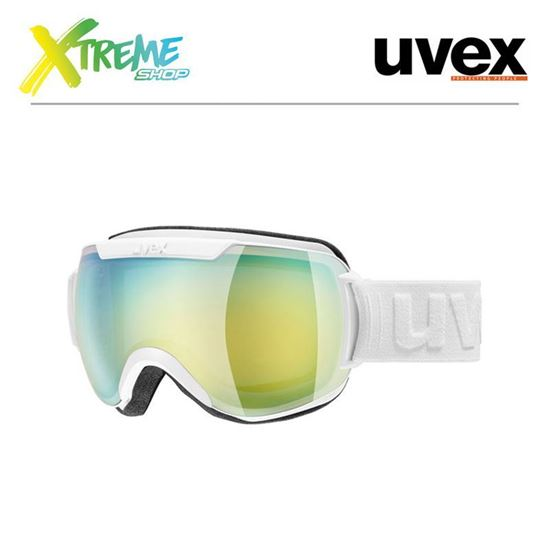 Gogle UVEX DOWNHILL 2000 FM White Mat/Mirror Orange