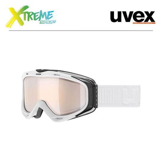 Gogle UVEX G.GL 300 VLM White Mat