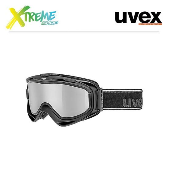 Gogle UVEX G.GL 300 TO Black Mat