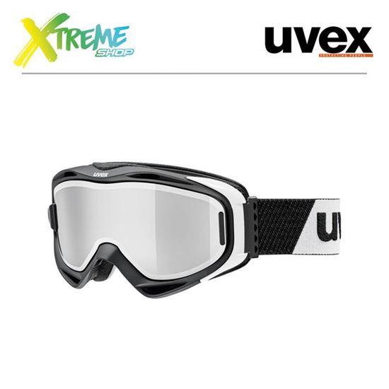 Gogle UVEX G.GL 300 TO Black Mat-White