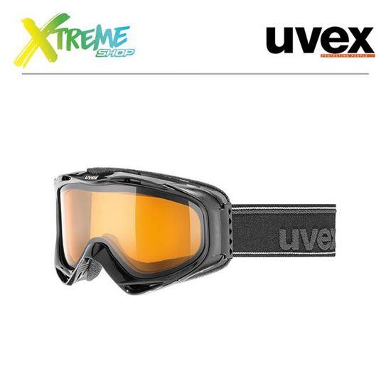 Gogle UVEX G.GL 300 LGL Black