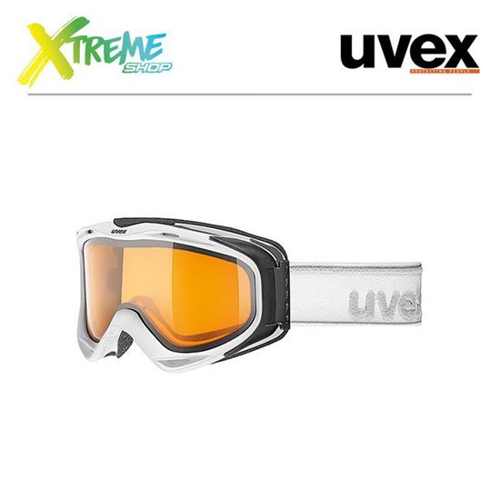 Gogle UVEX G.GL 300 LGL White Mat
