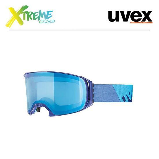Gogle UVEX CRAXX FM Indigo Mat