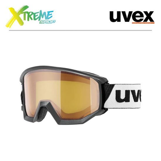 Gogle UVEX ATHLETIC LGL Black/Lasergold Lite Blue