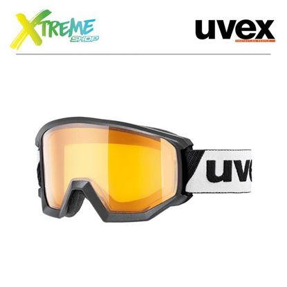 Gogle UVEX ATHLETIC LGL Black/Lasergold Lite Clear