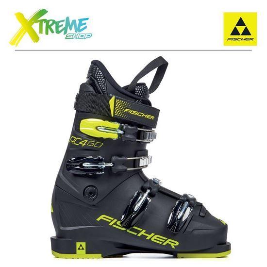 Buty narciarskie Fischer RC4 60 JR THERMOSHAPE 2021 Black