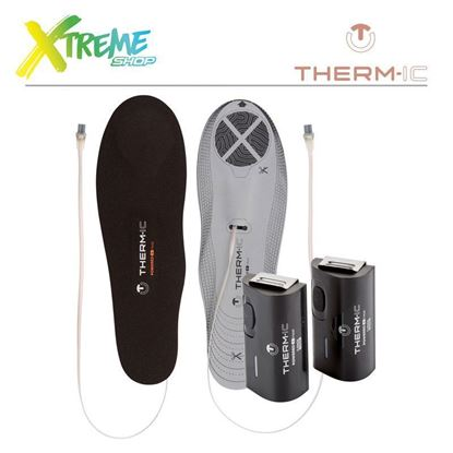 Wkładki Therm-Ic Heated Insole Set Heat Flat 1300