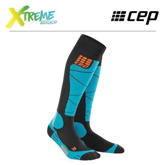 Skarpety kompresyjne CEP SKI MERINO SOCKS MEN WP50AB