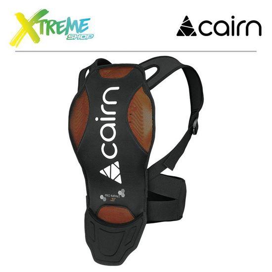 Ochraniacz kręgosłupa Cairn PRO IMPAKT D3O Black 1