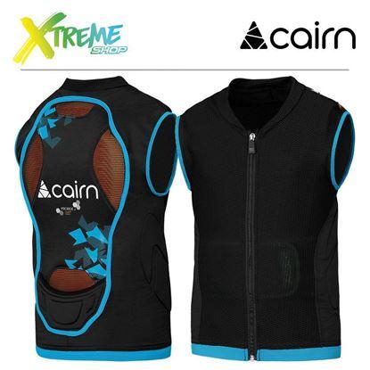 Ochraniacz kręgosłupa Cairn PRORIDE D3O Junior Azure New Camo