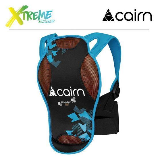 Ochraniacz kręgosłupa Cairn PRO IMPAKT D3O Junior Azure New Camo 1