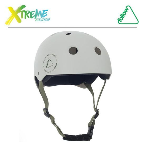 Kask Follow SAFETY FIRST HELMET White 2019
