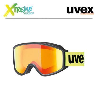 Gogle UVEX G.GL 3000 CV Yellow Lime Mat
