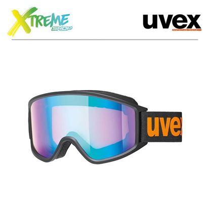 Gogle UVEX G.GL 3000 CV Black Orange Mat