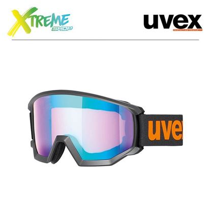 Gogle Uvex ATHLETIC CV Black Orange Mat