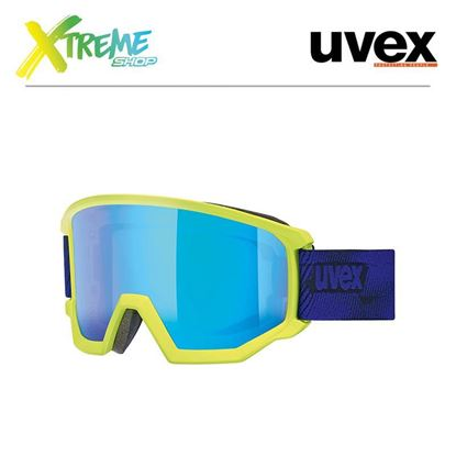 Gogle Uvex ATHLETIC CV Lime Indygo Mat