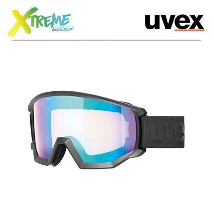 Gogle Uvex ATHLETIC CV Black Mat