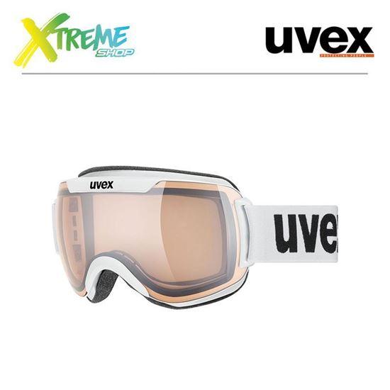 Gogle Uvex DOWNHILL 2000 V White