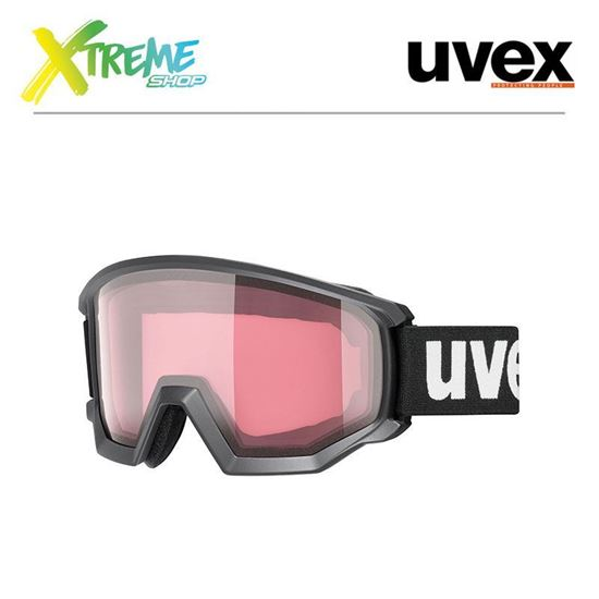 Gogle Uvex ATHLETIC V Black Mat