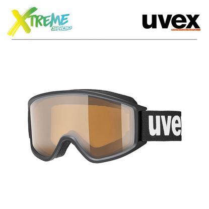 Gogle UVEX G.GL 3000 P Black Mat