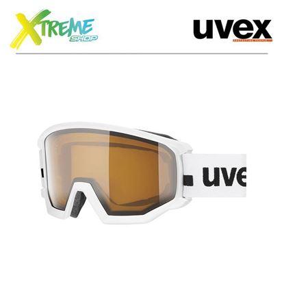 Gogle Uvex ATHLETIC P White Mat