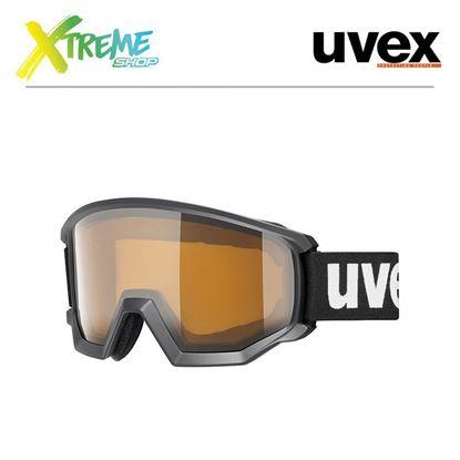 Gogle Uvex ATHLETIC P Black Mat