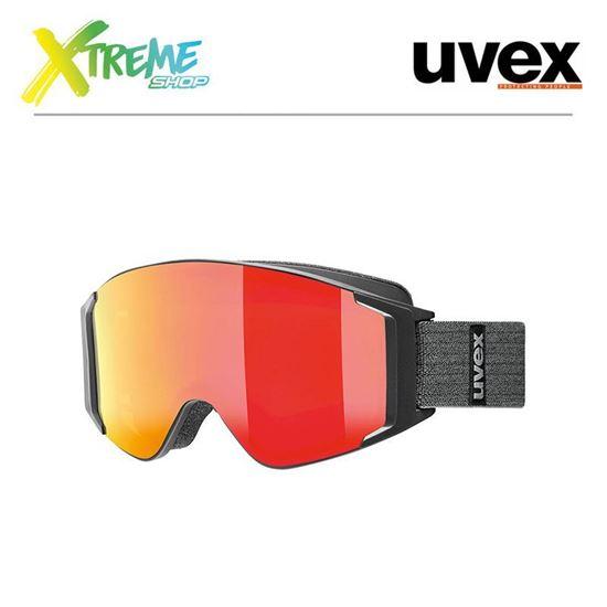 Gogle UVEX G.GL 3000 TO Black Mat