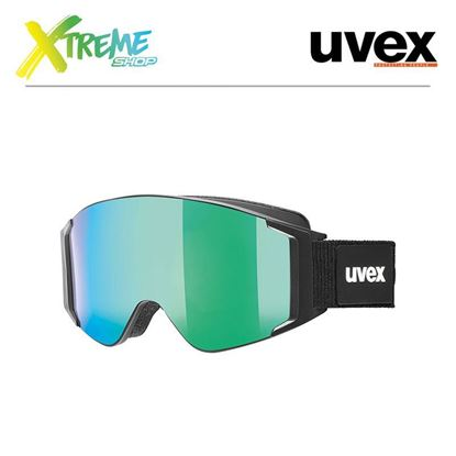 Gogle UVEX G.GL 3000 TO Black Mat