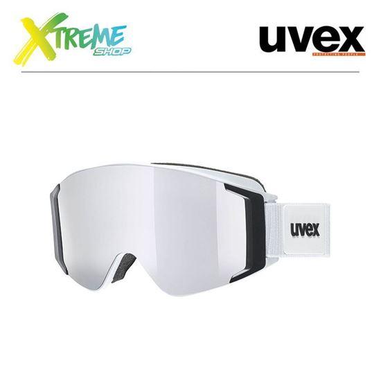 Gogle UVEX G.GL 3000 TO White Mat