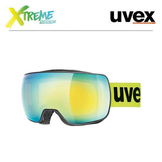 Gogle Uvex COMPACT FM Yellow Lime Mat