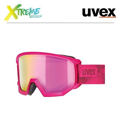Gogle Uvex ATHLETIC FM Pink Mat