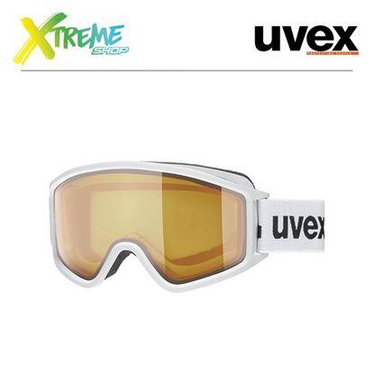 Gogle UVEX G.GL 3000 LGL White Mat