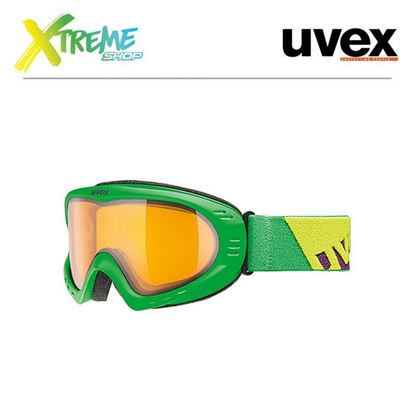 Gogle Uvex CEVRON Green Mat