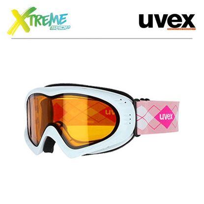 Gogle Uvex CEVRON White Pink