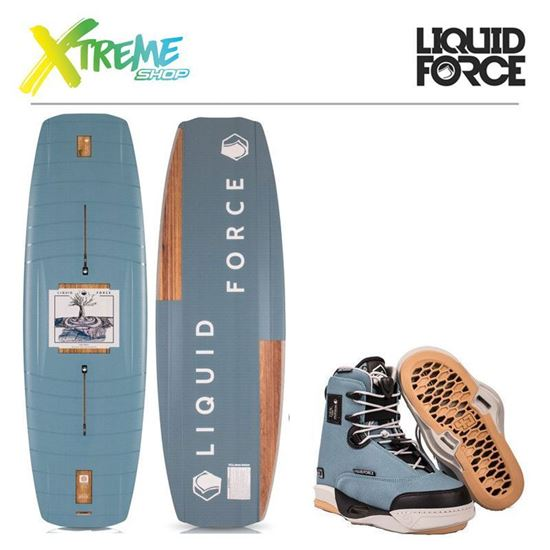Deska wakeboard Liquid Force PEAK 2019 + Wiązania Liquid Force PEAK 4D 2019